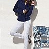 Jacket: Rene Lezard </br> Trousers: Escada